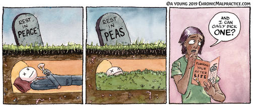 Rest In Peas