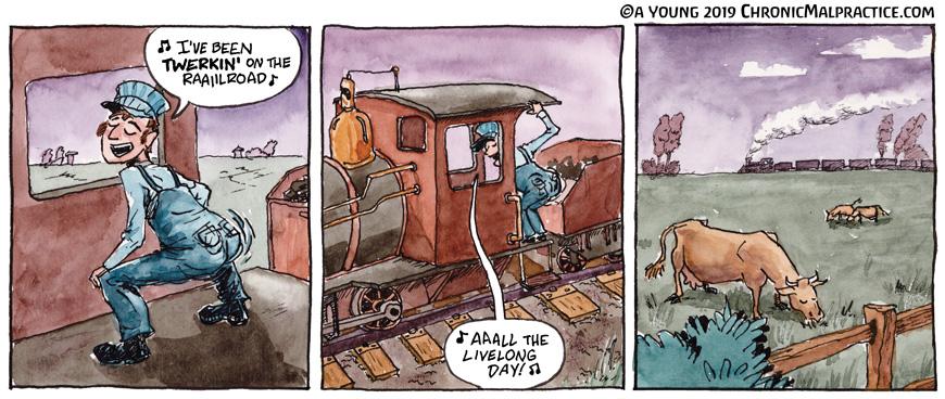 Twerking On The Railroad
